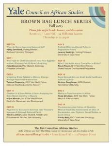 CAS Brown Bag Series