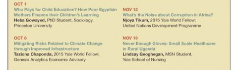 Presentation: Yale CAS